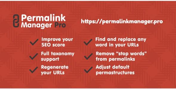 Permalinks Manager Pro plugin xóa bỏ hoặc thay thế đường dẫn web wordpress