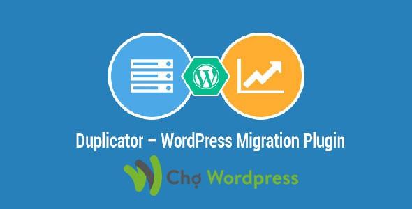 Duplicator Pro Plugin backup web cho WordPress