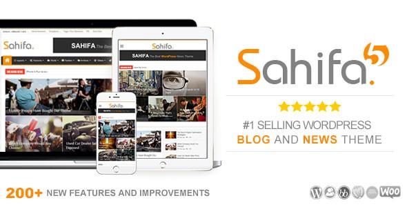 Sahifa - Responsive WordPress News / Magazine / Blog Themes