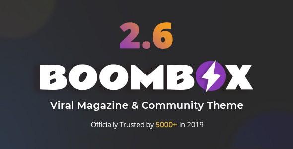 BoomBox - Viral Magazine WordPress Theme