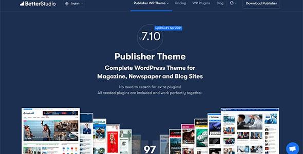 Publisher – Newspaper Magazine AMP