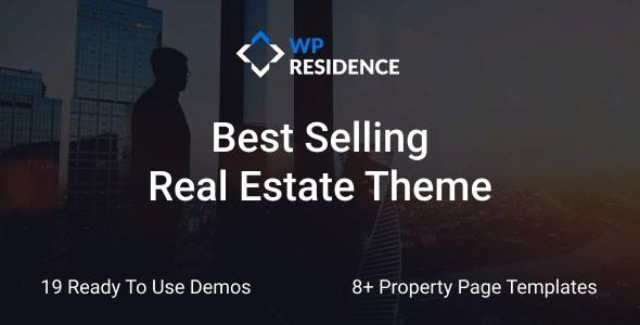 Residence Real Estate WordPress Theme